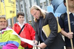 """Dr. Hofreiter unterschreibt den Aufruf """"PPP ade"""""""