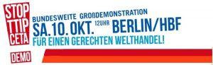 Aufruf TTIP 10.10.15 Berlin