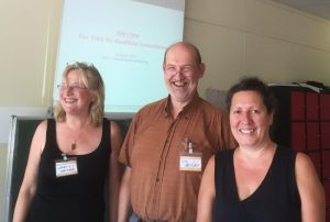 Gerlinde Schermer, Arno Behlau, Dr. Sabine Reiner (von links nach rechts)