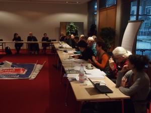 Diskussion auf dem Fachtag, Foto: Carl Waßmuth
